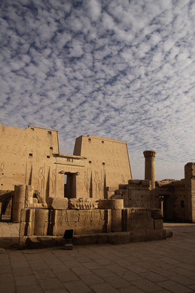 Temple of God Horus in Edfu, Egypt